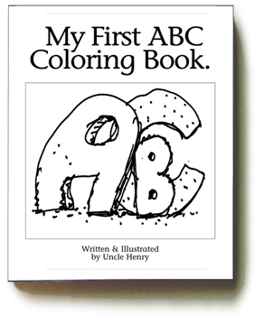My First ABC Coloring Book