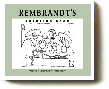 Rembrandt's Coloring Book